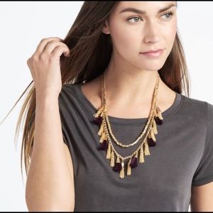 Baublebar Grenada Tassel Statement Necklace